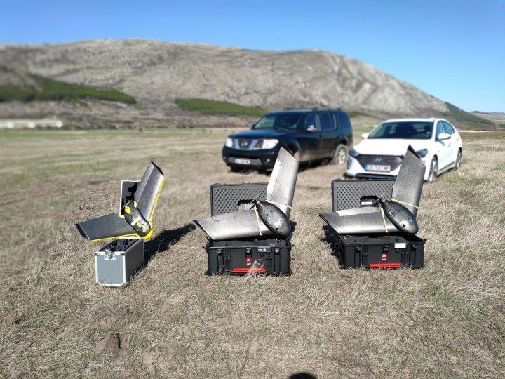 Две безпилотни летателни системи eBee X са по-добре от една
